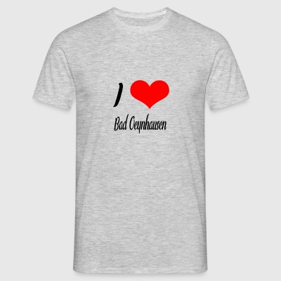 I love Bad Oeynhausen - Männer T-Shirt