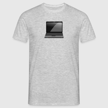 laptop - Herre-T-shirt