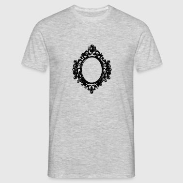 black mirror frame by berrykissed - Men's T-Shirt