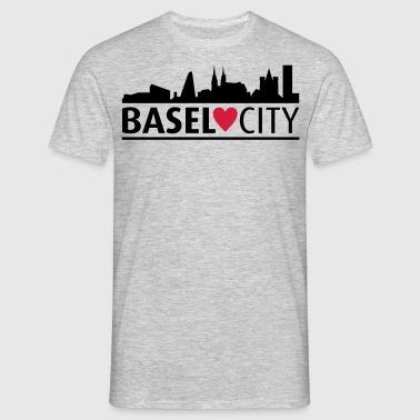 Basel city - Mannen T-shirt