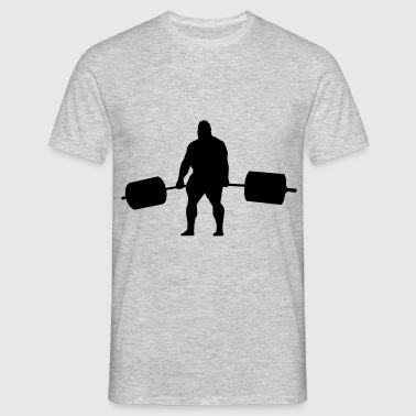 Strongman Deadlift - Männer T-Shirt
