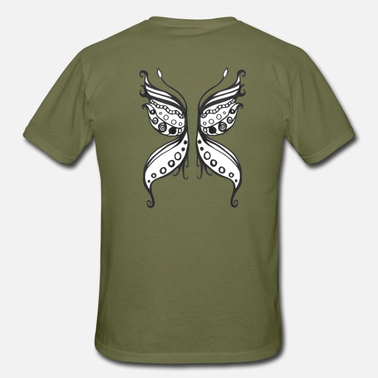 Larp T-Shirts - wing - Men's T-Shirt khaki green