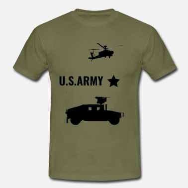 Us Army US ARMY - T-skjorte for menn