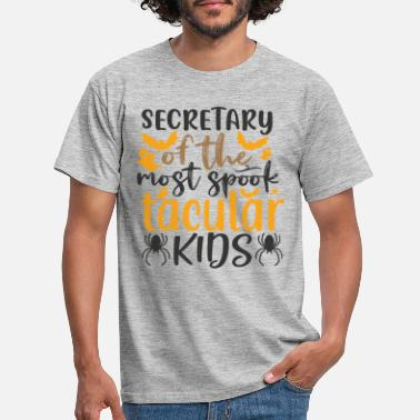 Limited Secretary of the Most Spook Tacular T-shirt voor kinderen - Mannen T-shirt