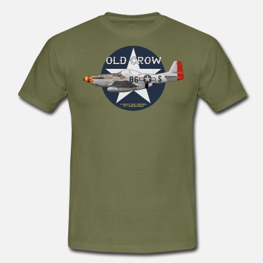 P-51 Old Crow - T-shirt Homme