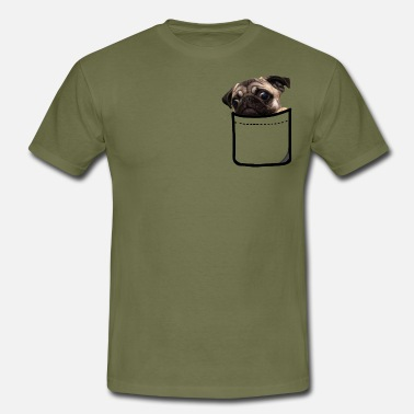 POCKET DOGGY - Men's T-Shirt