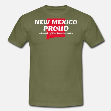 Mexico New Mexico Proud State Devise Land Of Enchantment - T-shirt Homme