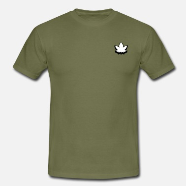 Hemp Leaf Hemp leaf - Men's T-Shirt