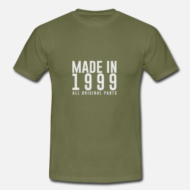 Made MADE IN 1999 - BIRTH YEAR - Men's T-Shirt