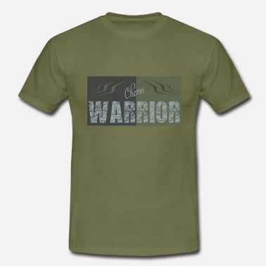 Chemo Chemo Warrior - Mannen T-shirt
