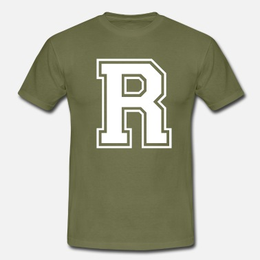 Rochester r - Men's T-Shirt