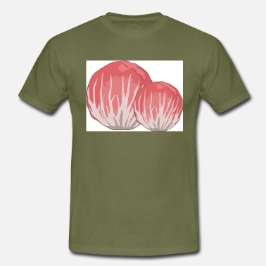 red chicory from Chioggia - Men's T-Shirt