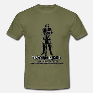 Ordres De Chevalerie Teutonic Knight The sixth Crusade - T-shirt Homme
