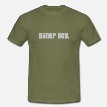 Train Eat Gain Doner boy. - Men's T-Shirt