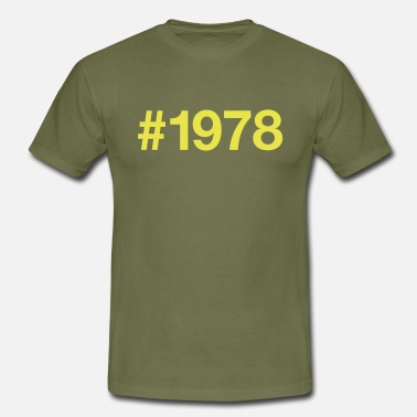 Born In The 80s 1978 - Men's T-Shirt