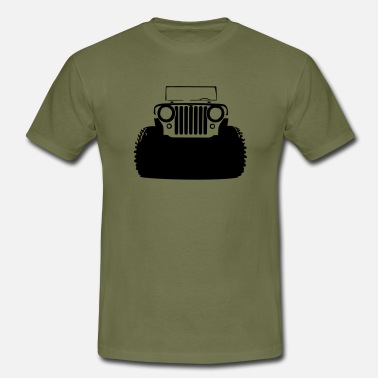 Jeep Willys - Men's T-Shirt