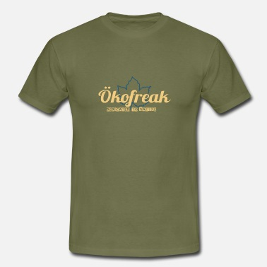 Öko Ökofreak - Dedicated to Nature - beige - Männer T-Shirt