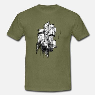 Architecture Architectural - Men's T-Shirt