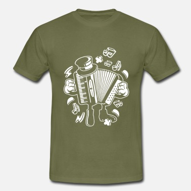 Accordion Accordion, accordion - Men's T-Shirt