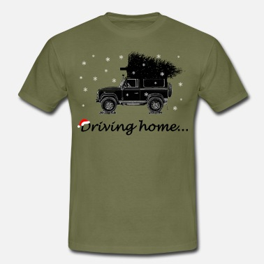 Missmapel Driving home2 - Männer T-Shirt