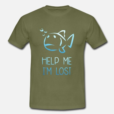 Im No 1 Help me Im Lost 1 - Men's T-Shirt