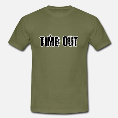 Time Out Time out - Herre-T-shirt