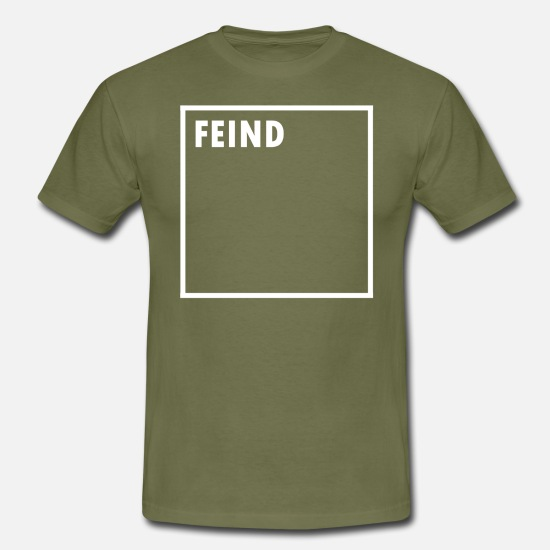 Important T-Shirts - ENEMY - Men's T-Shirt khaki green