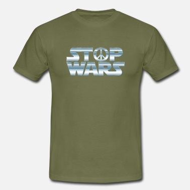 Stop-war Stop Wars - T-shirt Homme