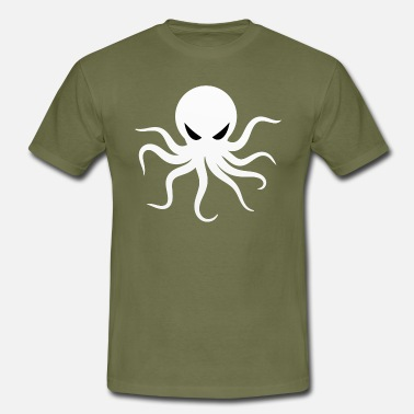 Kæmpeblæksprutte Octopus Diving Kids Gamer - Herre-T-shirt