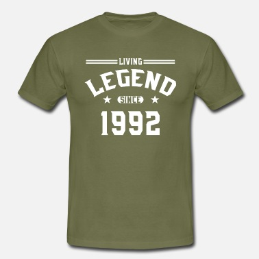 Since 1992 Living legend since 1992 - Men's T-Shirt