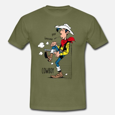 Lucky Luke Poor Lonesome Cowboy - Männer T-Shirt