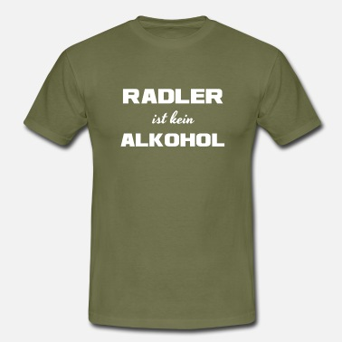 Radler Radler is not alcohol! - Men's T-Shirt