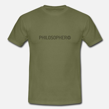 Philosopher Philosopher - Men's T-Shirt