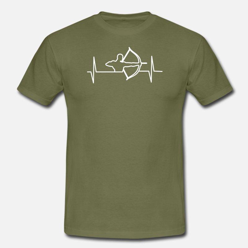 Archer - T-shirt Archer - Battement de coeur T-shirt Homme   Spreadshirt 35300caf0e78