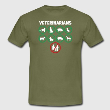 Veterinarian - Veterinarian T-Shirt - Veterinary Medicine - Quote - Men's T-Shirt