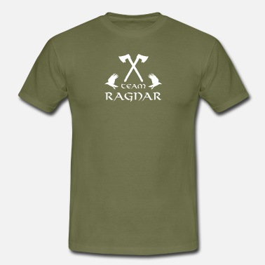 Odin Raven Team Ragnar - Vikings - Ragnar Lodbrok - Lagertha - Men's T-Shirt