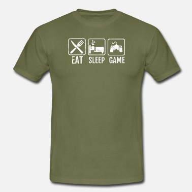 Geek Gamer Gamer - geek - nerd - gamer - gift - Men's T-Shirt