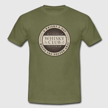 The Malthead Whiskey Club Worldwide - Men's T-Shirt