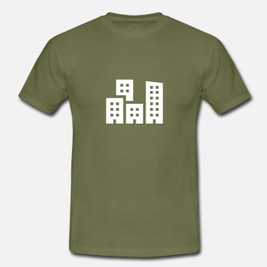 Cityscape Cityscape illustration - Men's T-Shirt