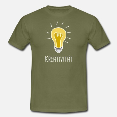 Kreativitet kreativitet - T-shirt herr