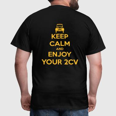 2CV Keep calm - Men's T-Shirt