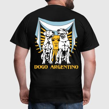 Dogo Argentino Flagge - Männer T-Shirt