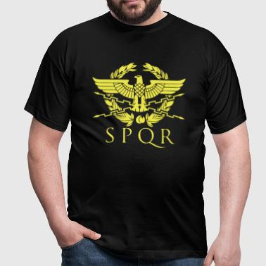 spqr hemblem - Men's T-Shirt