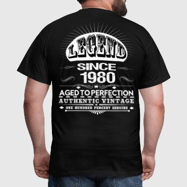 LEGEND SINCE 1980 - Men's T-Shirt