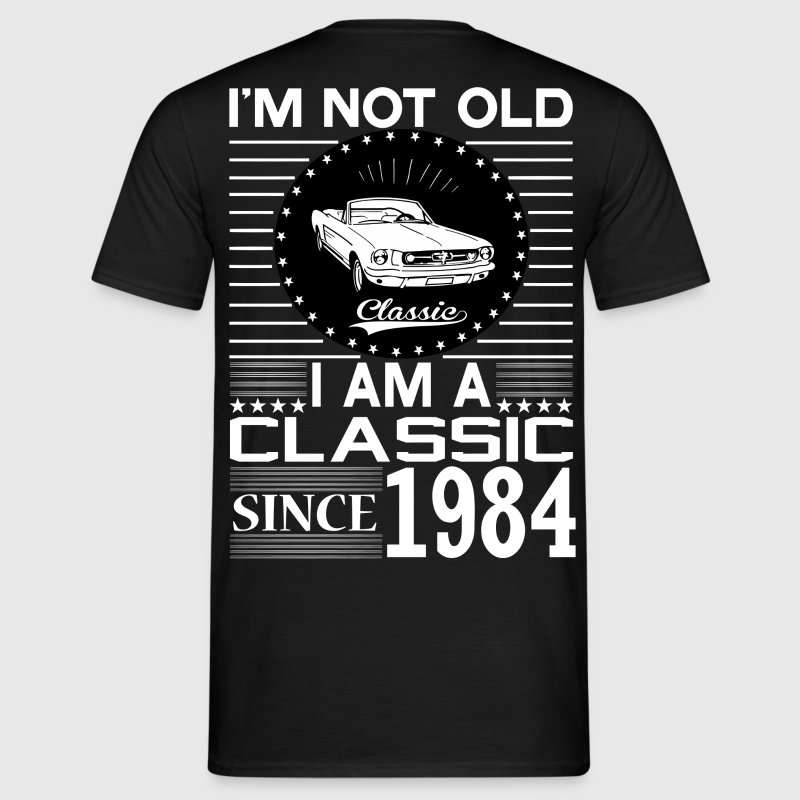 Classic since 1984 - Men's T-Shirt