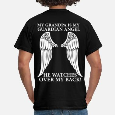 My Grandpa My Grandpa Is My Guardian Angel - Men's T-Shirt