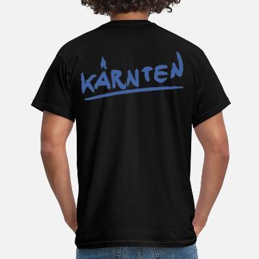 f86d2fb8ba Kärnten Männer T-Shirt klassisch schwarz Kärnten - Männer T-Shirt
