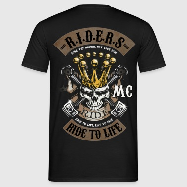 MC ride skull - T-shirt Homme