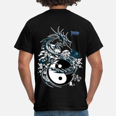 Manga the dragon toonis - T-shirt Homme