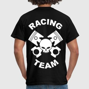 pistons and rods racing team - Men's T-Shirt